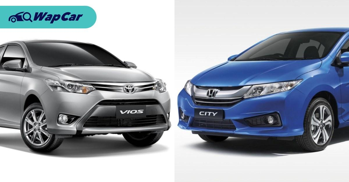 Toyota Vios vs Honda City: Which one has better resale value? 01