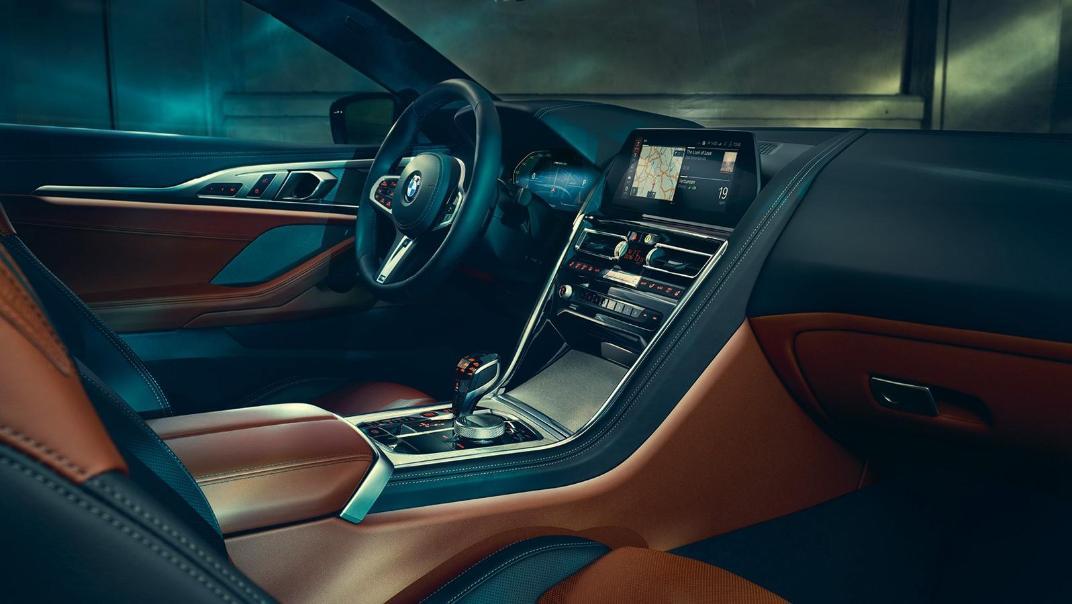 2020 BMW M850i xDrive Coupe Interior 008