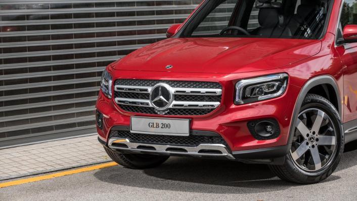 2020 Mercedes-Benz GLB 200 Progressive Line Exterior 006