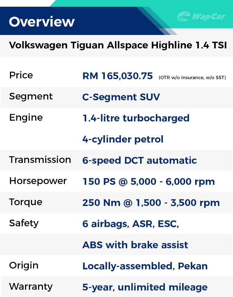 Review: 2020 VW Tiguan Allspace Highline 1.4 - No ADAS but has 7 seats, a better CR-V? 02