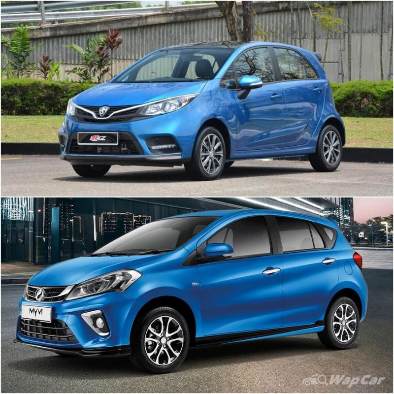 Proton tried fighting Perodua with the Tiara and Savvy, and lost miserably 02