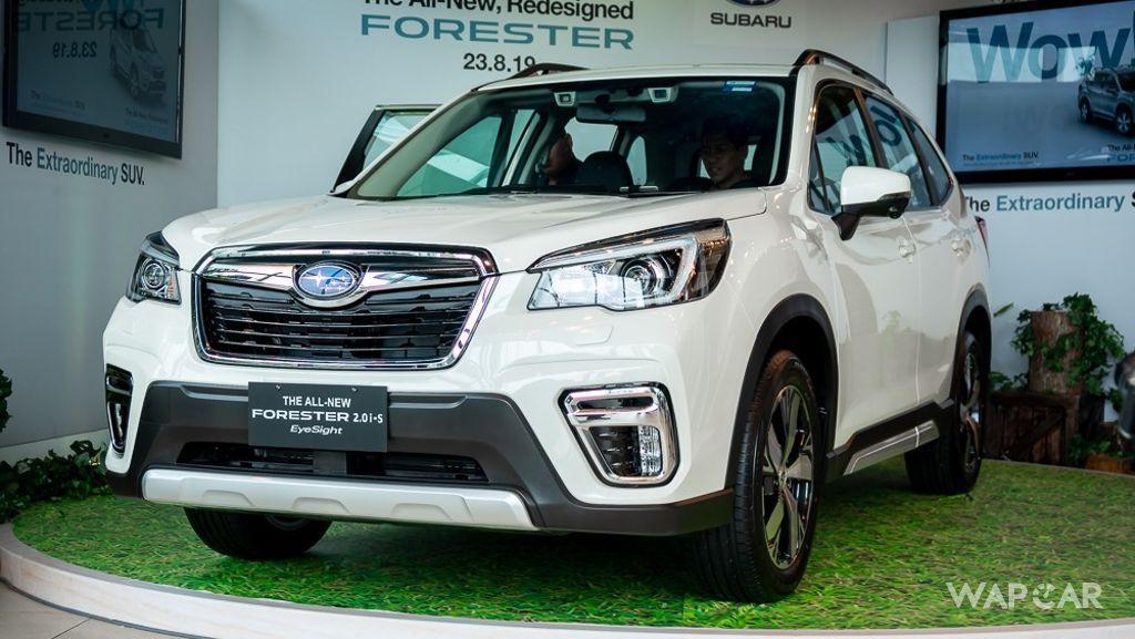 2019 Subaru Forester 2.0i-S EyeSight Exterior 012