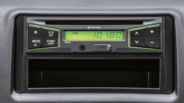 Toyota Hiace (2018) Interior 005