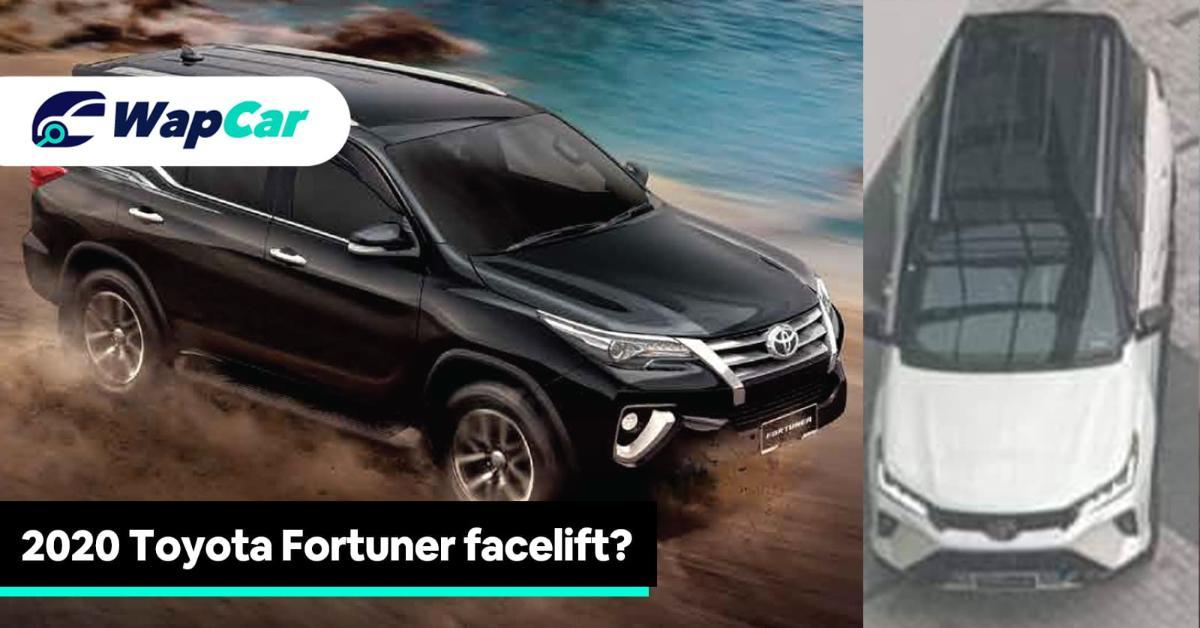 2020 Toyota Fortuner Facelift Exterior
