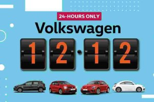 Volkswagen Malaysia holds a 12.12 sale on Instagram. Say what?