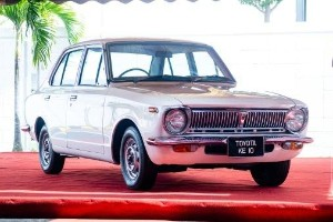 Toyota Malaysia restores the iconic KE10 Corolla