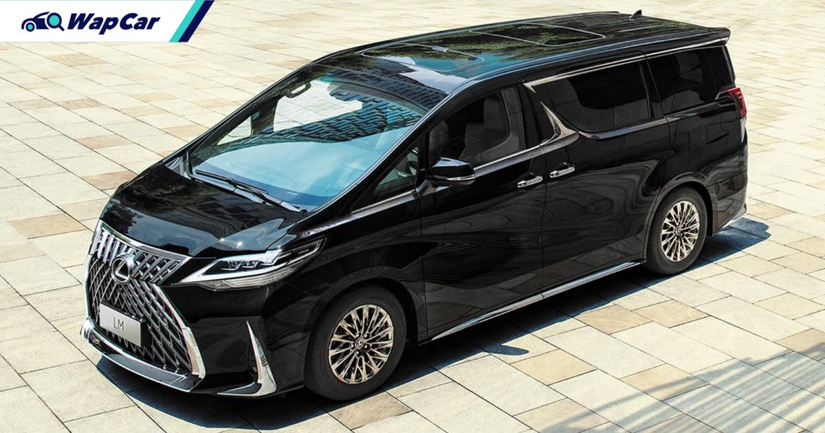 RM 1.15 mil for a dolled-up Alphard? 4-seater 2021 Lexus LM 350 heading to Malaysia 01