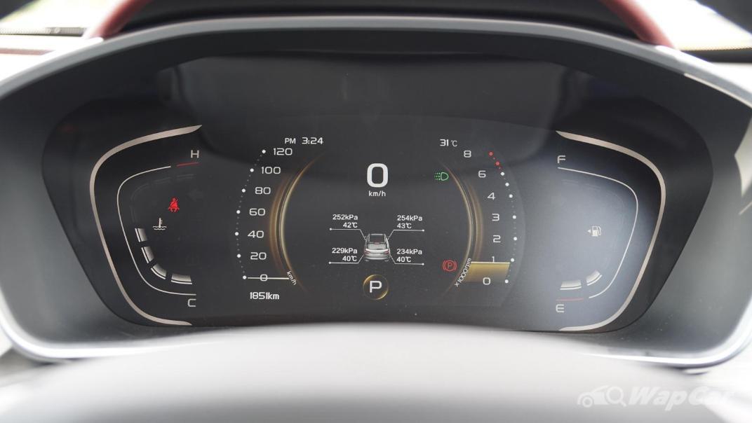 2020 Proton X50 1.5T  Flagship Interior 009