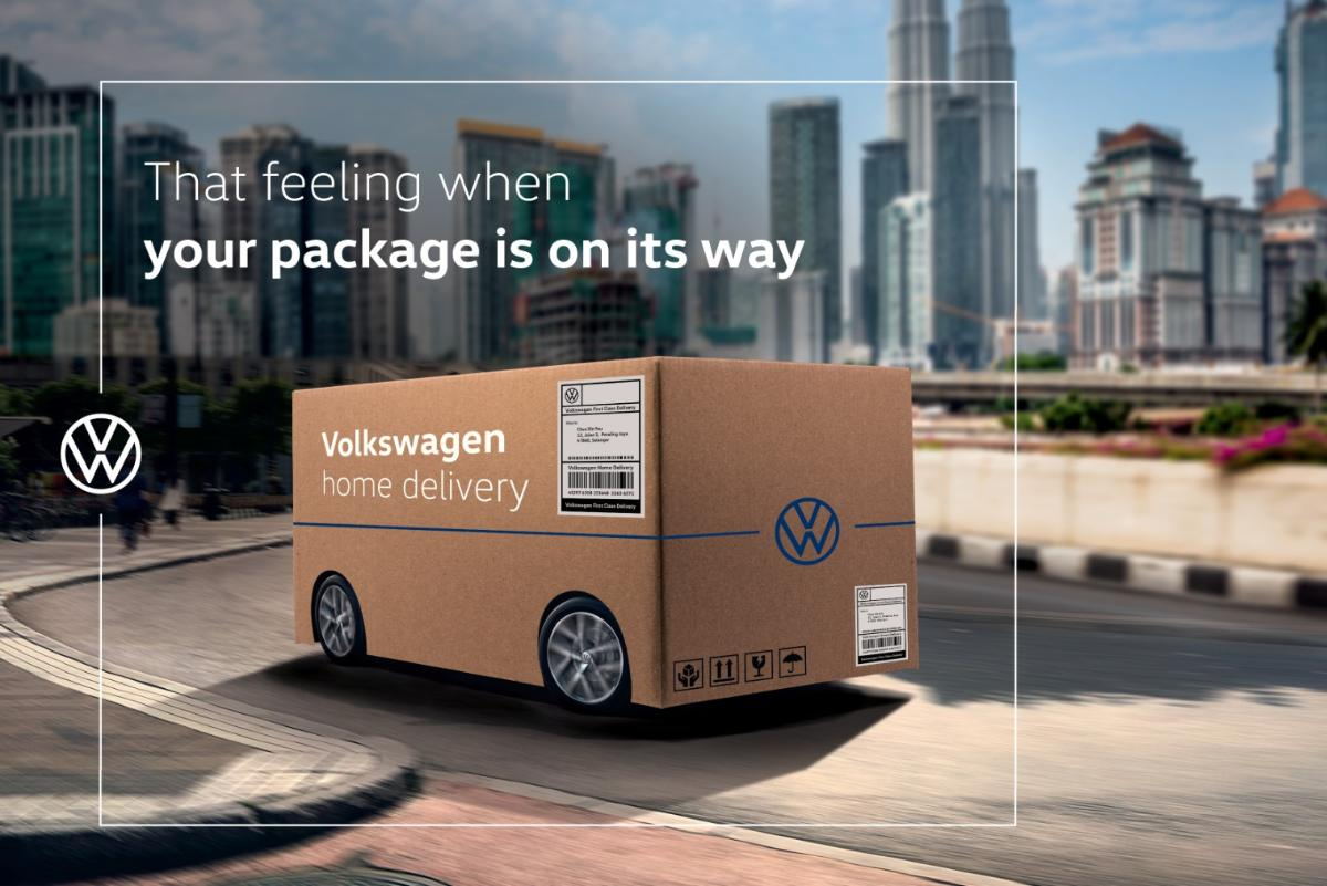 Kereta Volkswagen kini boleh dibeli atas talian semudah 1,2,3 01
