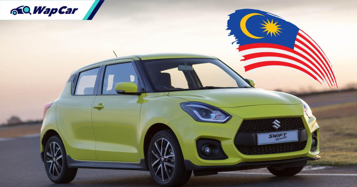Bookings opened for 2021 Suzuki Swift Sport: CBU Japan, from RM 145k, no mild hybrid 01