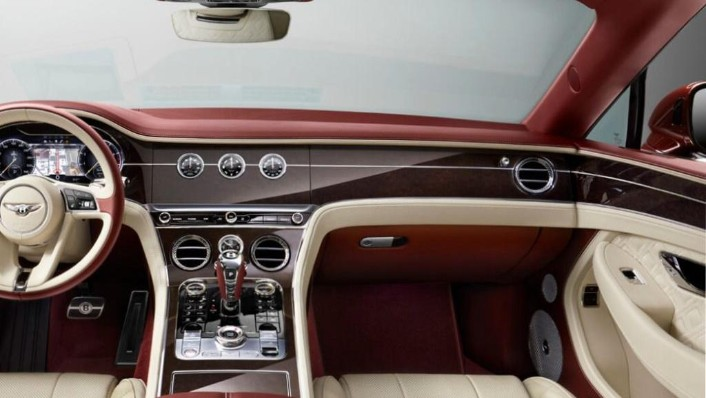 Bentley Continental (2019) Interior 006