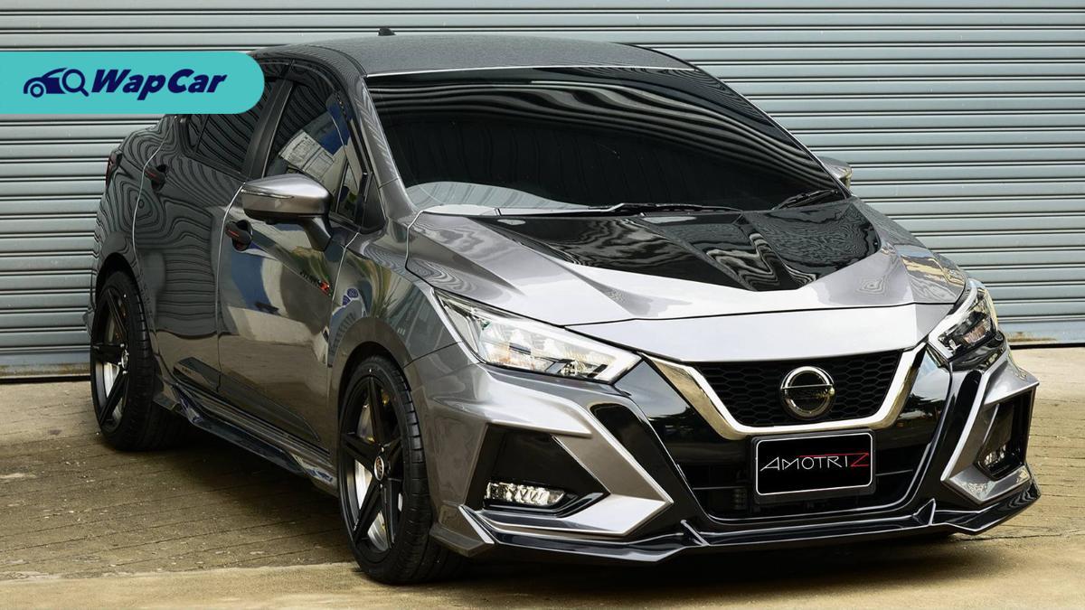 Kit badan LUMGA untuk Nissan Almera 2020 – agresif macam Civic Type-R! 01
