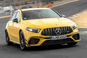Mercedes-AMG A45 S is faster than a Lamborghini on the Nurburgring, but slower than a Honda Civic?
