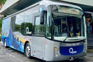 Sabah introduces first EV bus; More green public transportation in Malaysia!