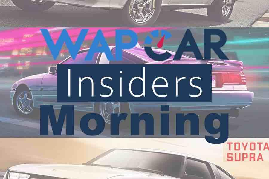 Wapcar Morning Insiders (Sep. 20, 2019)