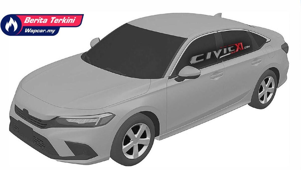 Intipan: 2022 Honda Civic sedan generasi baru. Baby Accord? 01