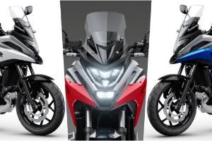 Honda NC750X 2021, lebih ringan, prestasi dipertingkat