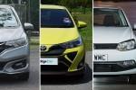 Honda Jazz vs Toyota Yaris vs Volkswagen Polo - which B-segment hatchback is for you?
