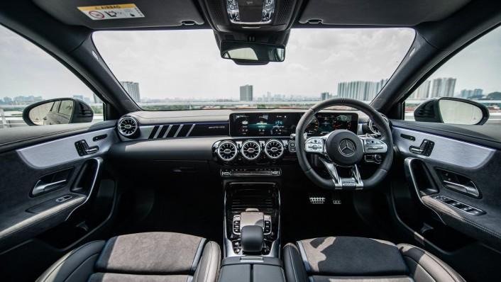 2020 Mercedes-Benz AMG A-Class A35 4MATIC Interior 003