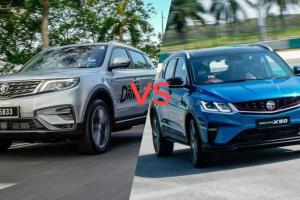 Perbandingan: Harga Proton X50 vs Proton X70 bertindih! Nak pilih yang mana?