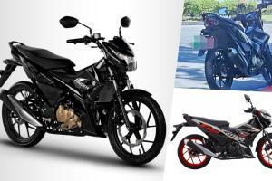 Spyshot: Suzuki uji Raider 150 Fi di Malaysia?