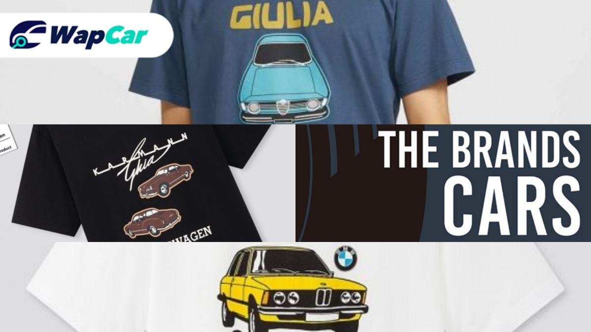 Are you a fan of BMW, Alfa Romeo or VW fan? Uniqlo has the perfect T-shirt for you! 01