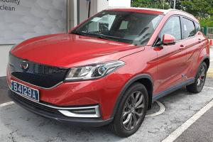 New Chinese EV spotted in Malaysia, DFSK Glory EV3 charging at Sunway
