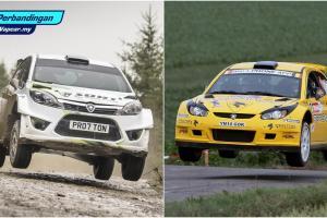 Perbandingan: Proton Iriz R5 vs Satria Neo 2000, kereta rali manakah yang anda pilih ?