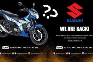 Suzuki umum kembali ke pasaran Malaysia. Sasar motosikal moped atau berkuasa tinggi?