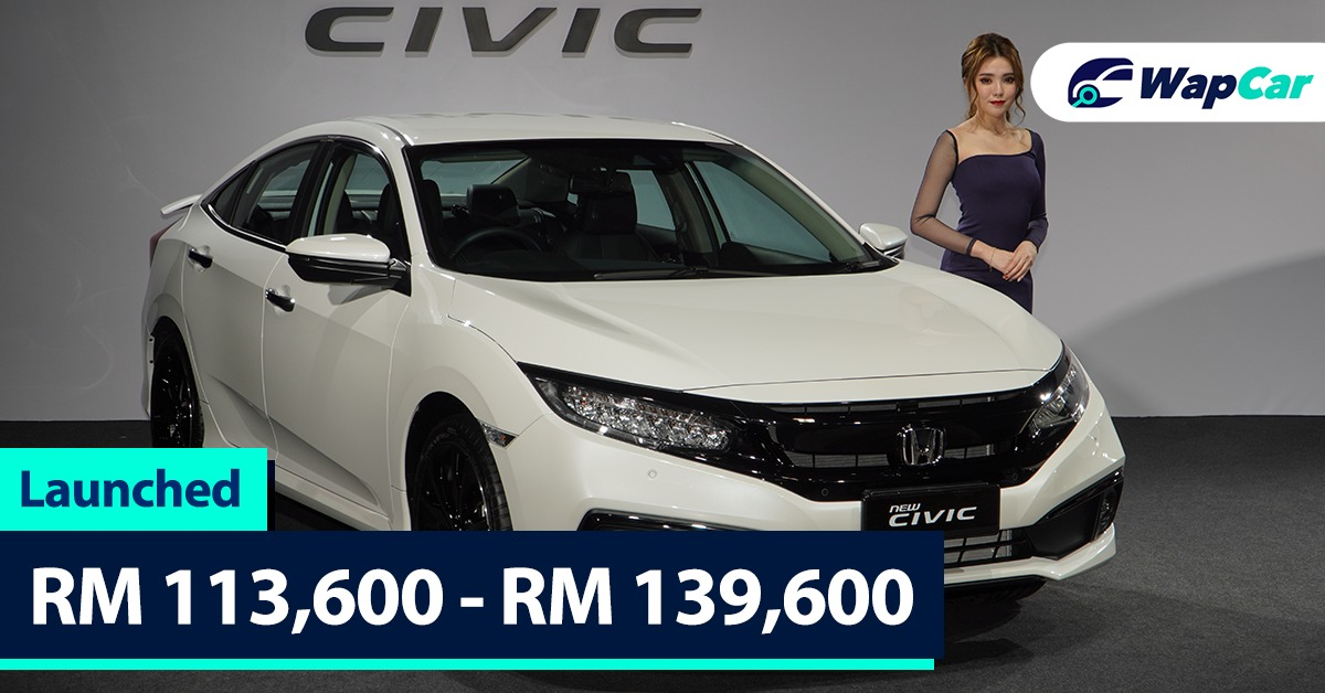 New 2020 Honda Civic Fc Facelift Launched Sensing Lanewatch 173 Ps From Rm 113k Wapcar