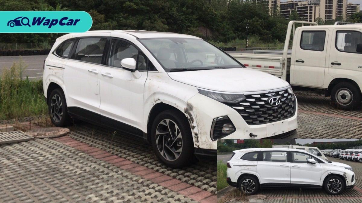 Spied: Hyundai Custo MPV sans camouflage 01