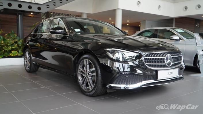 2021 Mercedes-Benz E-Class E200 Avantgarde Exterior 003