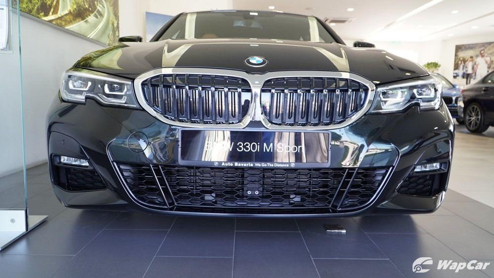 2019 BMW 3 Series 330i M Sport Exterior 011