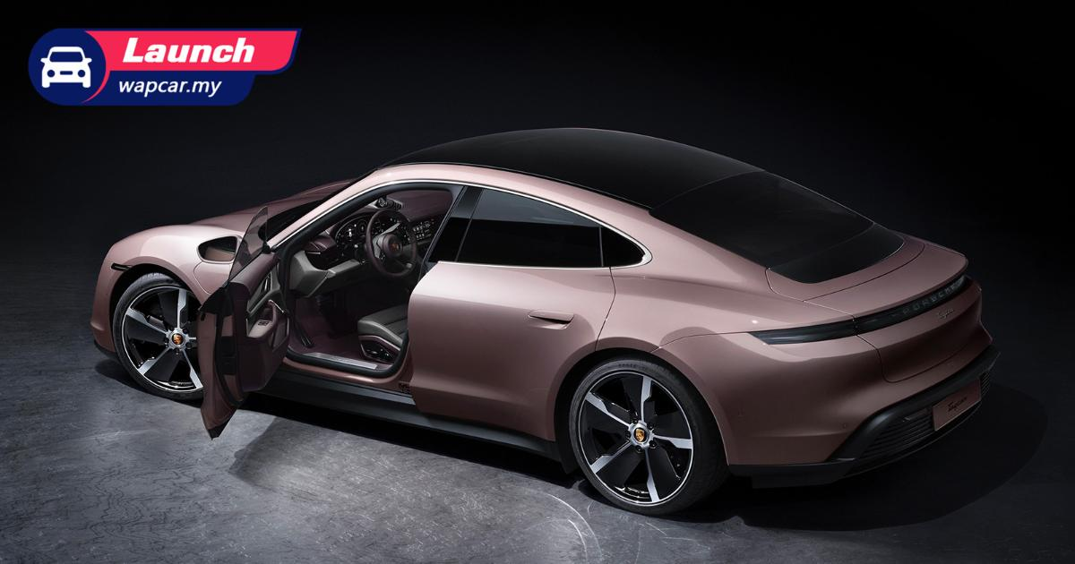 Priced from RM 585k, the 2021 Porsche Taycan RWD is here in Malaysia 01