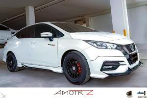 Kit badan AmotriZ V.1 untuk Nissan Almera 2020 – ada aura GT-R R35!