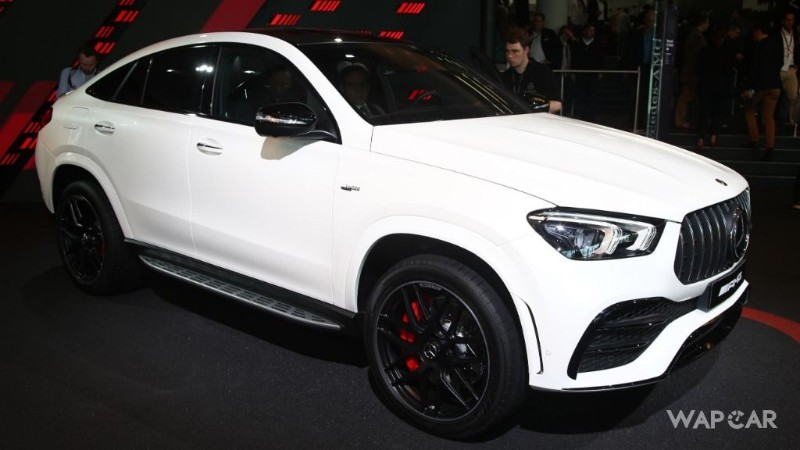 Frankfurt 2019: All-new 2020 Mercedes-AMG GLE 53 Coupe makes world premiere 02