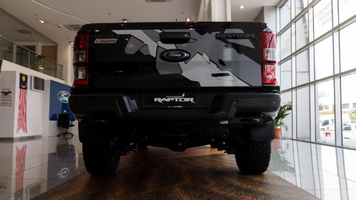 2019 Ford Ranger Raptor 2.0L 4X4 High Rdier Exterior 003