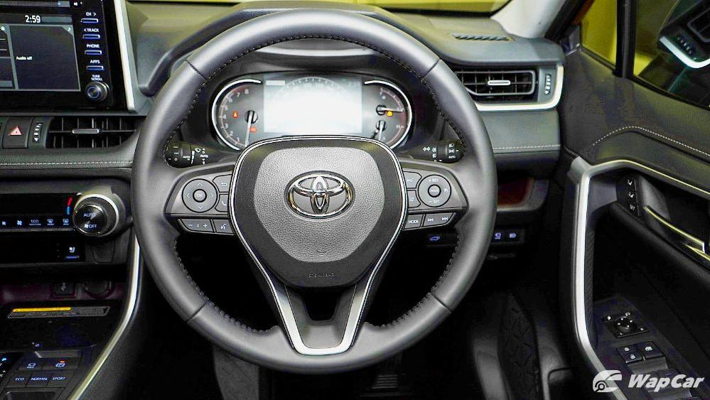 2020 Toyota RAV4 2.5L Interior 030