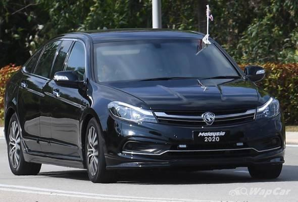 How did Tun M's Proton Perdana ended up gathering dust in the UK? 02