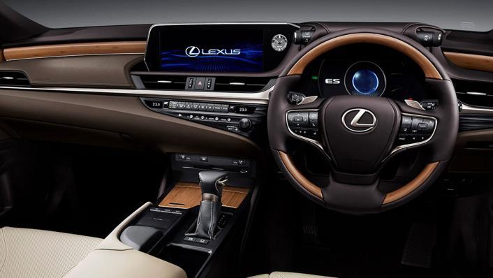2021 Lexus ES 250 Limited Edition Interior 001