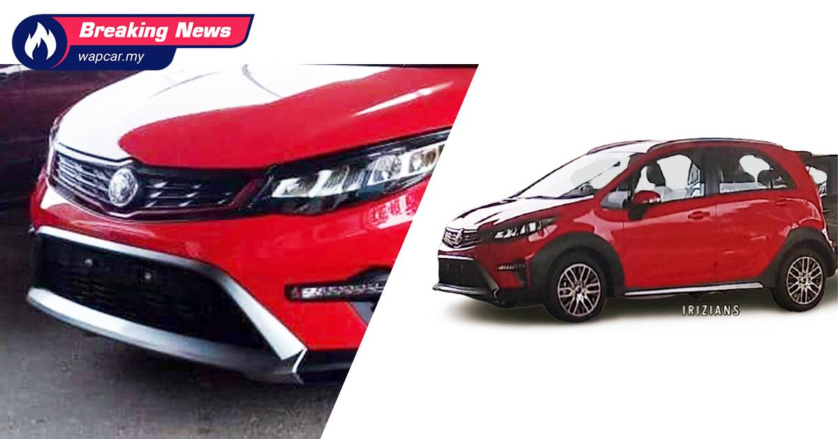 Leaked: First look at the 2021 Proton Iriz Active, launching soon! 01