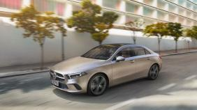 2019 Mercedes-Benz A200 Sedan Progressive Line Exterior 001