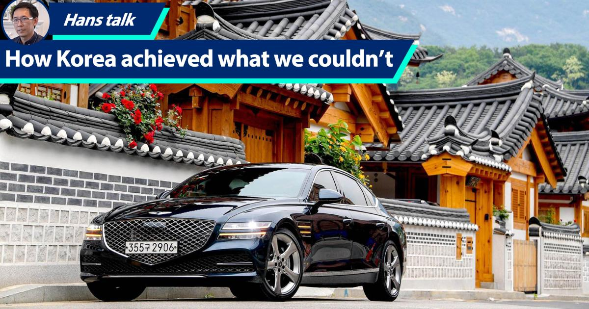Once poorer than Malaysia, how Korea's car industry progressed further than ours? 01