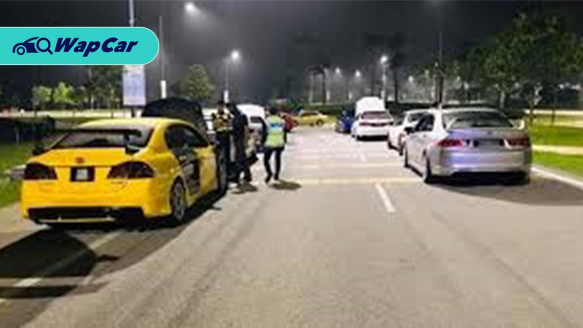 Kereta Honda disita dalam perlumbaan haram di Eco Hill, Semenyih 01