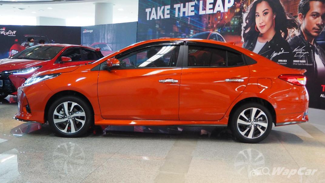 2021 Toyota Vios 1.5G Exterior 004