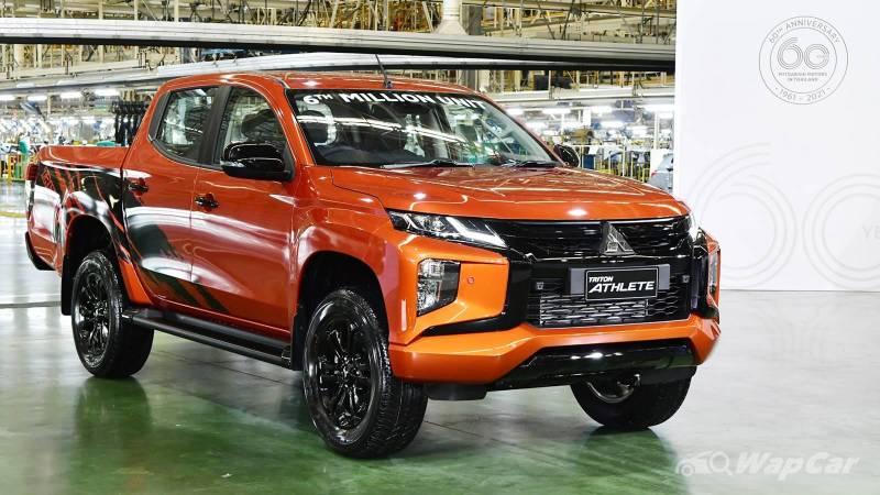 Mitsubishi Motors Thailand's 6 millionth unit is this strikingly orange Triton 02