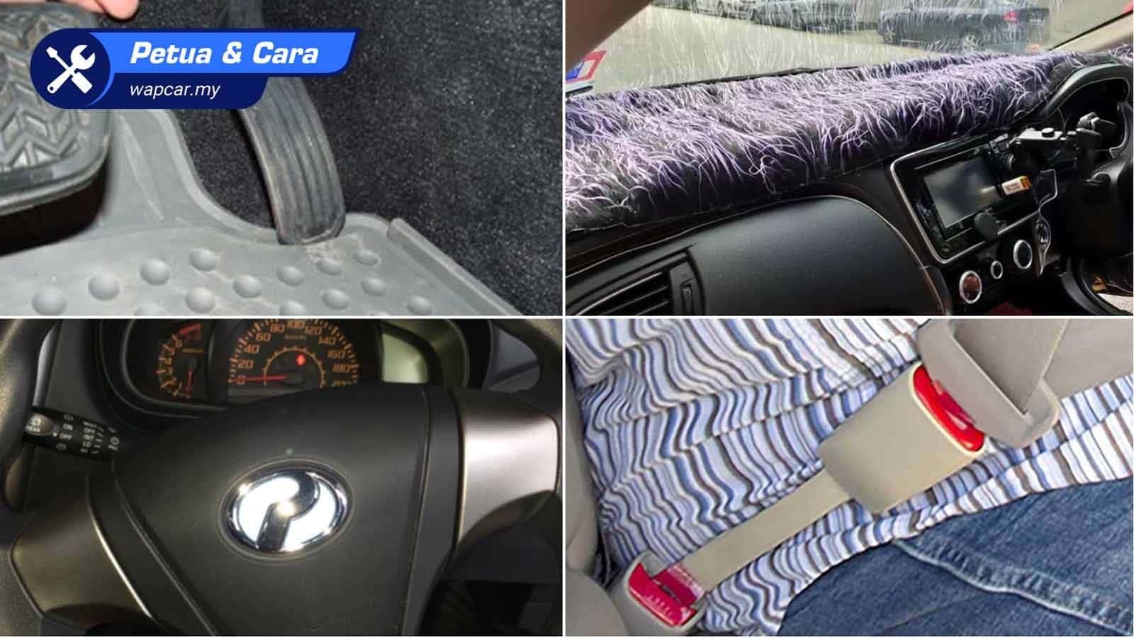 Video: Jangan gadai nyawa anda, ini 4 aksesori kereta yang bahaya! 01