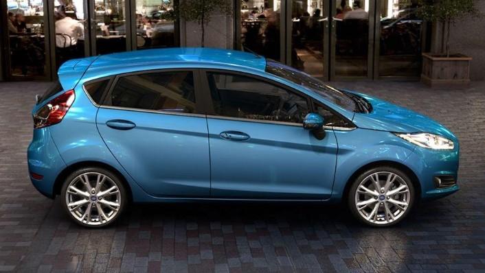 Ford Fiesta (2017) Exterior 005