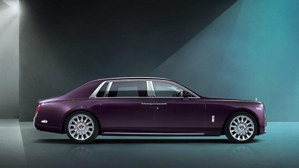 2018 Rolls-Royce Phantom Extended Wheelbase Exterior 001