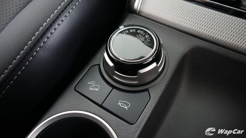 2019 Mitsubishi Triton VGT Adventure X Interior 024